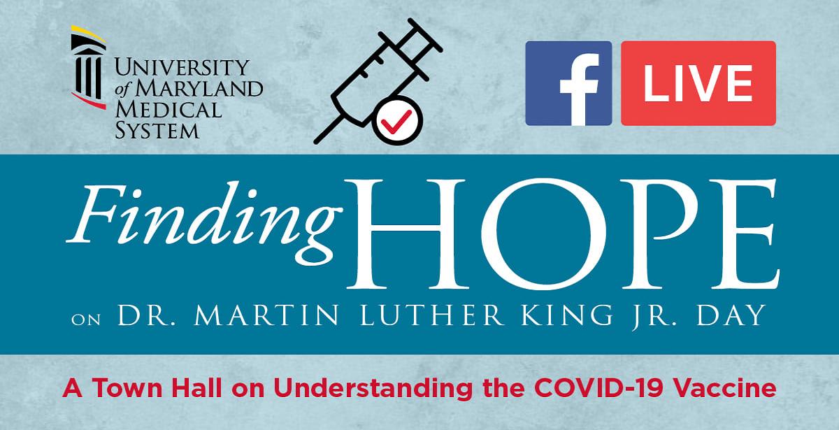 University of Maryland Medical System Holding COVID-19 ...