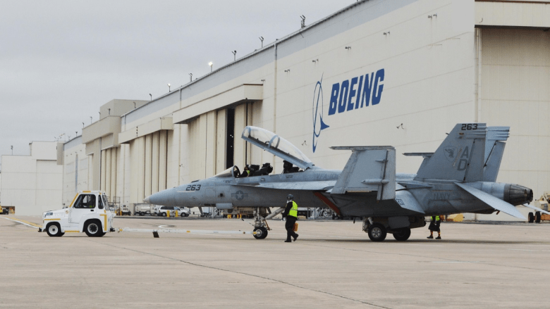 Second Line Supports Service Life Modification On Super Hornets