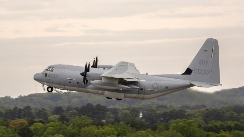 Milestone KC-130J Super Hercules delivery includes capability upgrade
