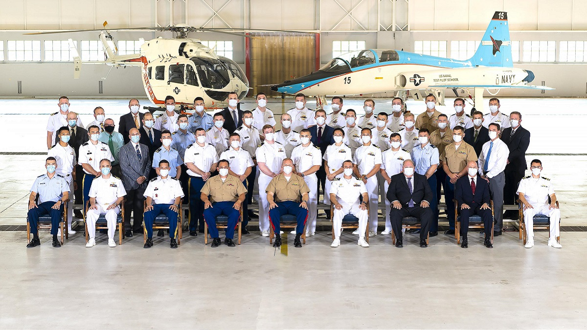 Class 159 graduates from the United States Naval Test Pilot School