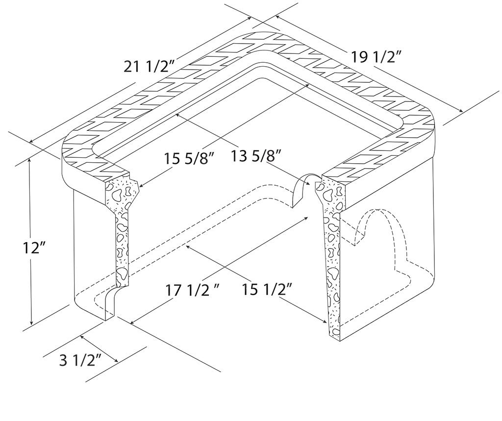 C H Dual Concrete Meter Boxes