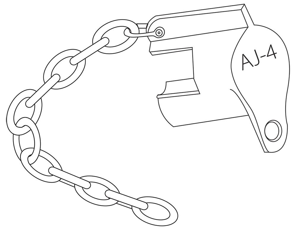 Aj 4 Locking Device A Amp J Meter Service Inc