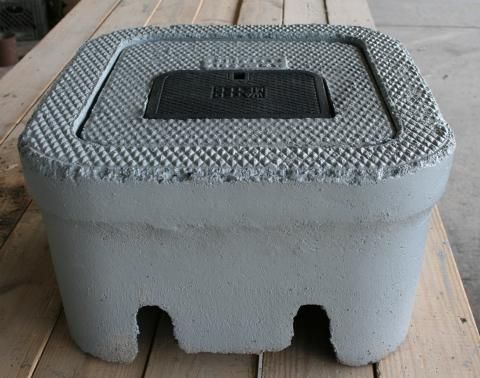 CH Dual Concrete Meter Boxes Southern Meter Box
