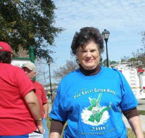 Rep. Sydnie Mae Durand at The Great Gator Race