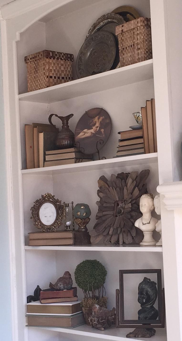 Bookcase Decor 2