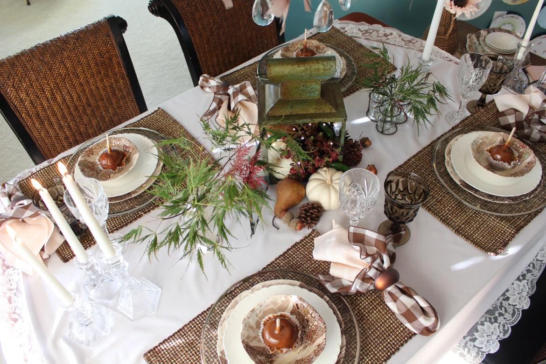 Simple DIY Fall Tablescape