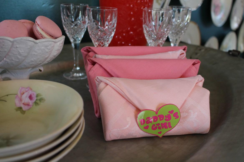 Napkin Fold for Valentine's Day