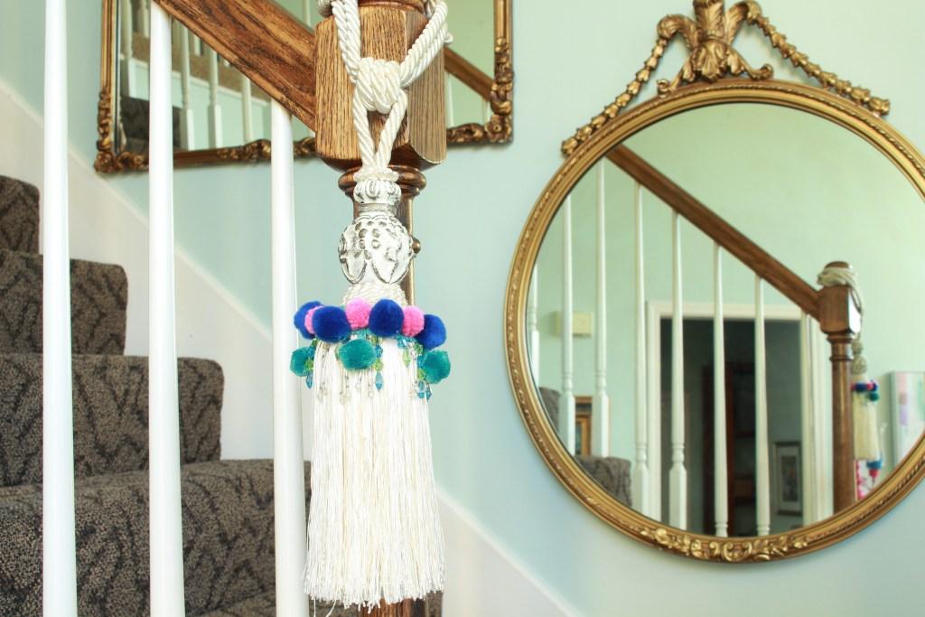 DIY Tassel Curtain Tie Back