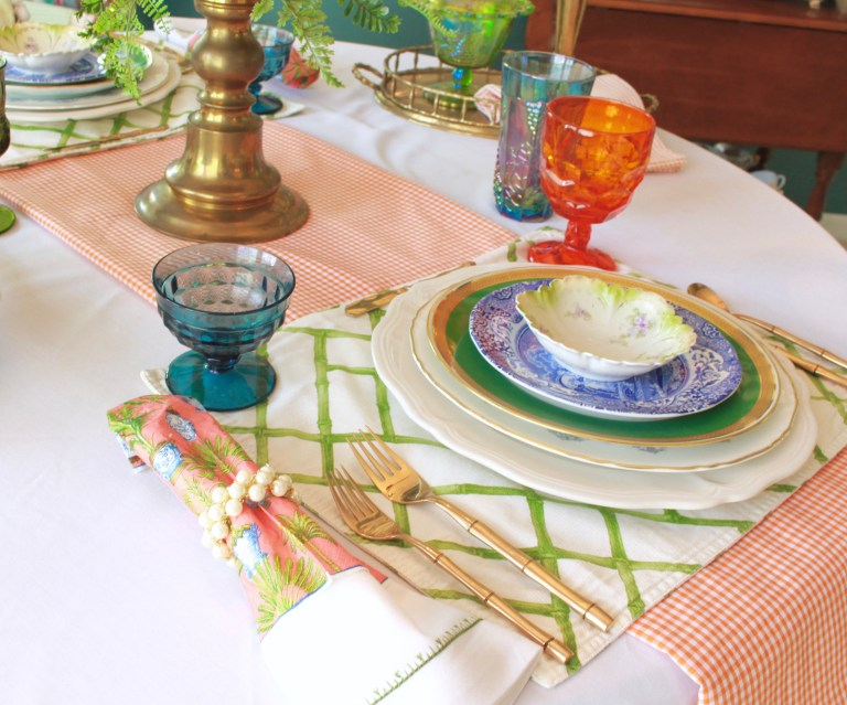 How to Set a Table with Mismatched Dishes