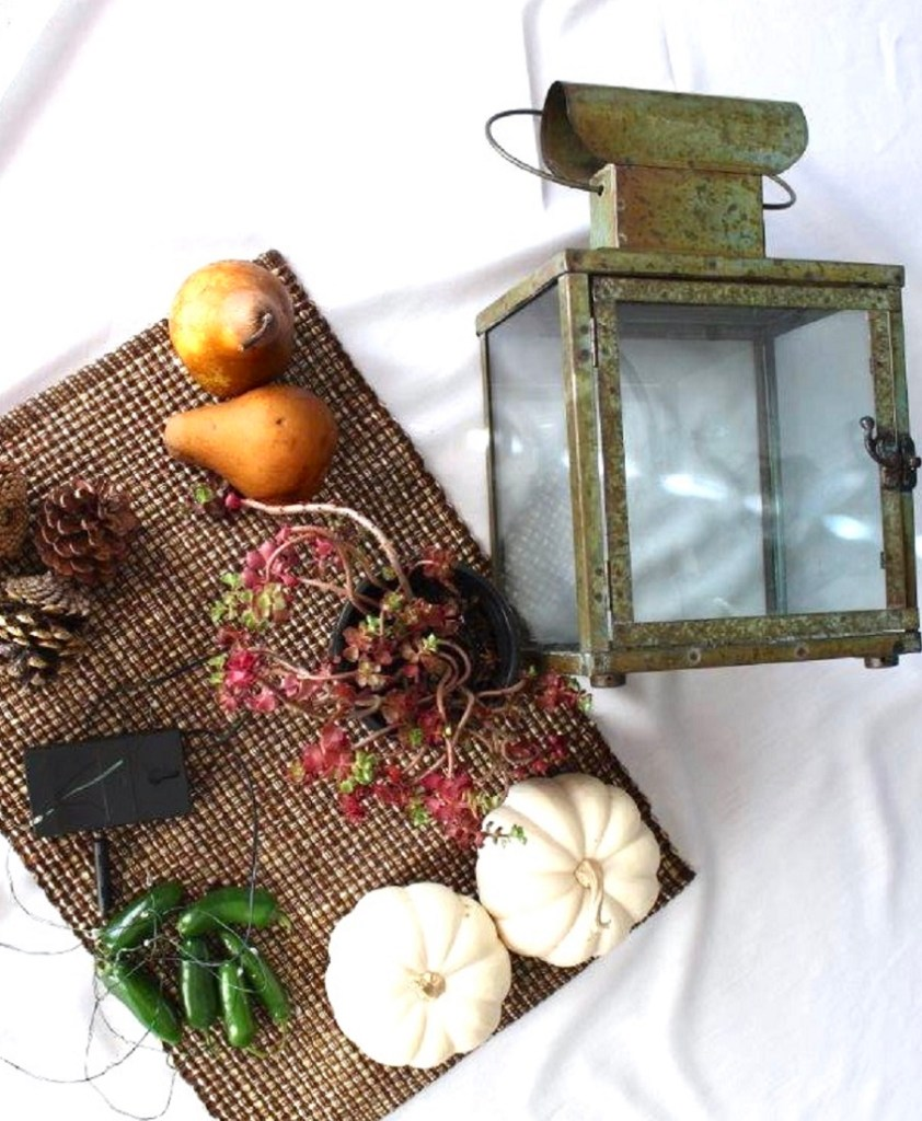 Budget Friendly Fall Centerpiece
