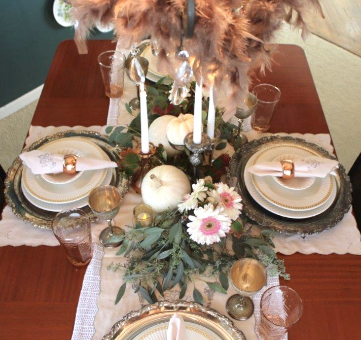 4 items create Easy Fall Centerpiece