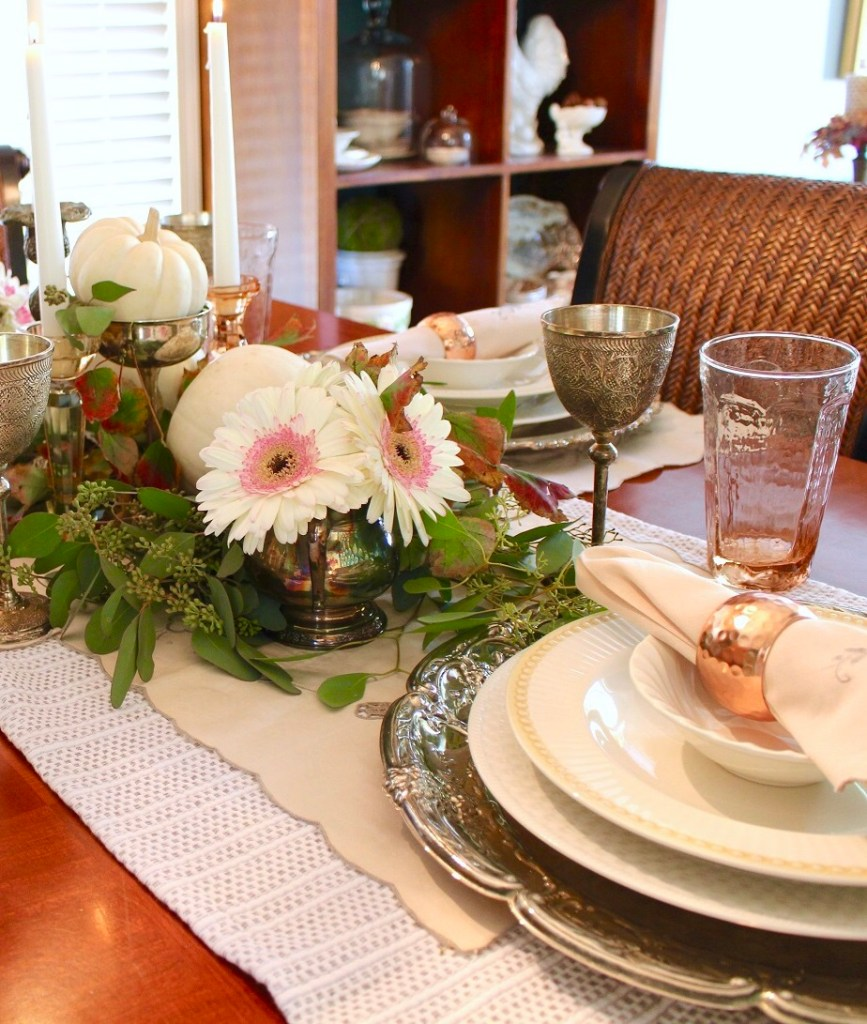 4 Items Create Stunning Fall Decor Centerpiece