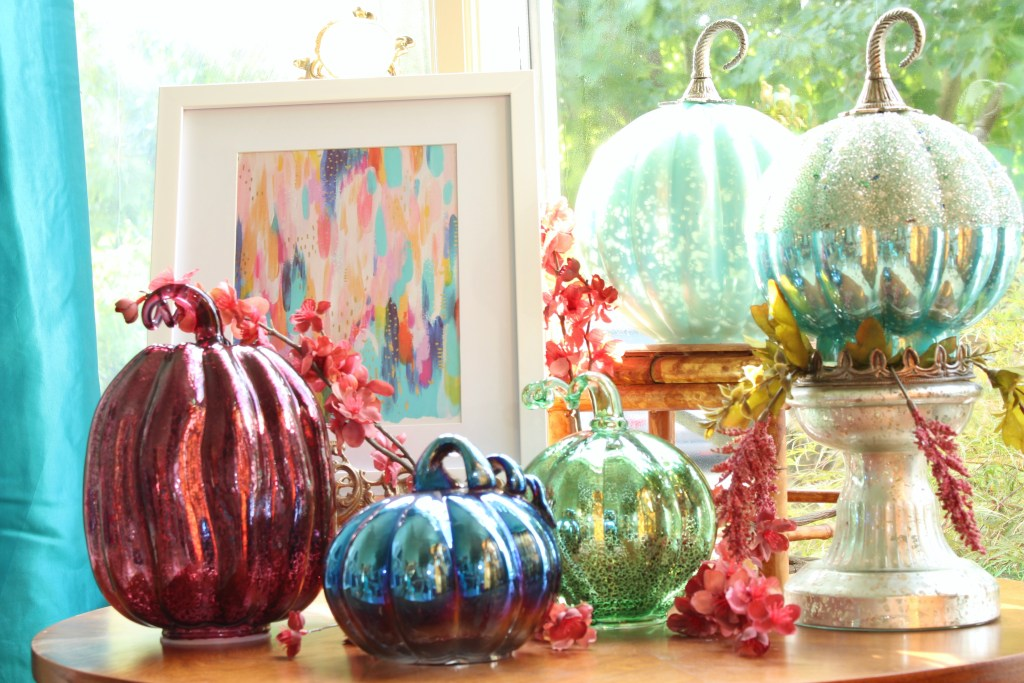 Fall Decor for the Chinoiserie Chic Space