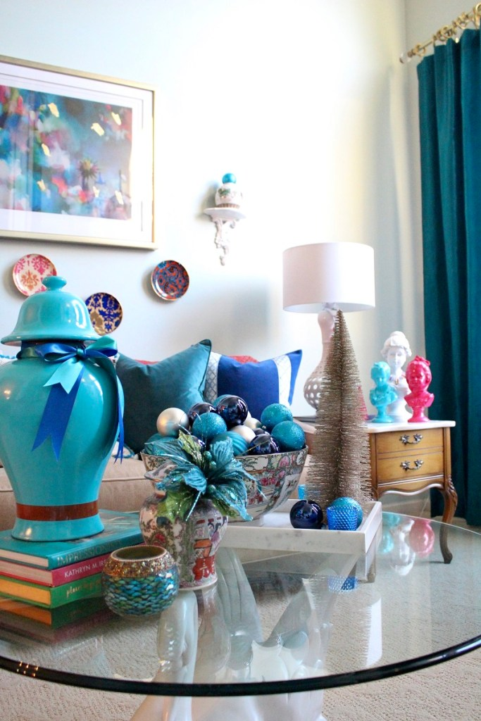 Turquoise Ginger Jar and Chinoiserie Decor