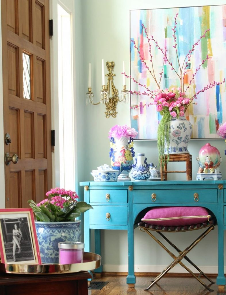 Chinoiserie Chic Spring Decor