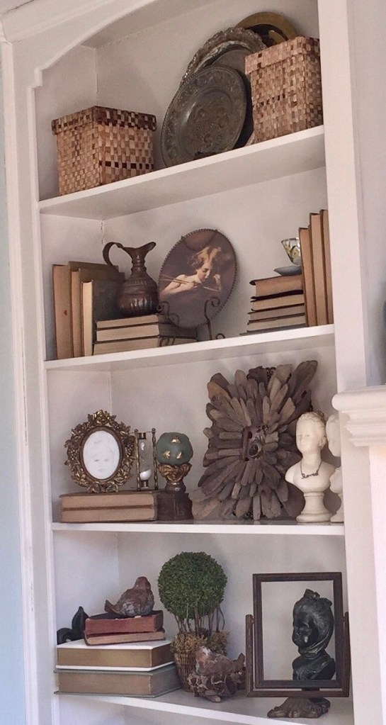 Styling Bookcase Shelves