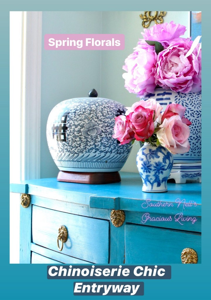 Spring Decor and Faux Flowers