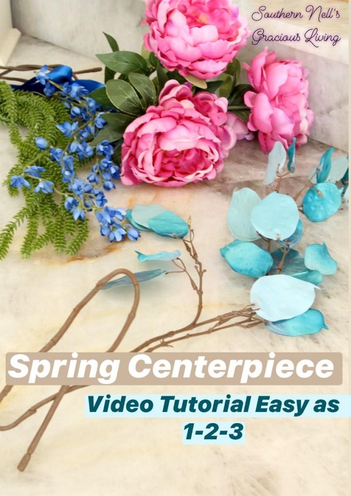 Simple & Stunning Spring Centerpiece