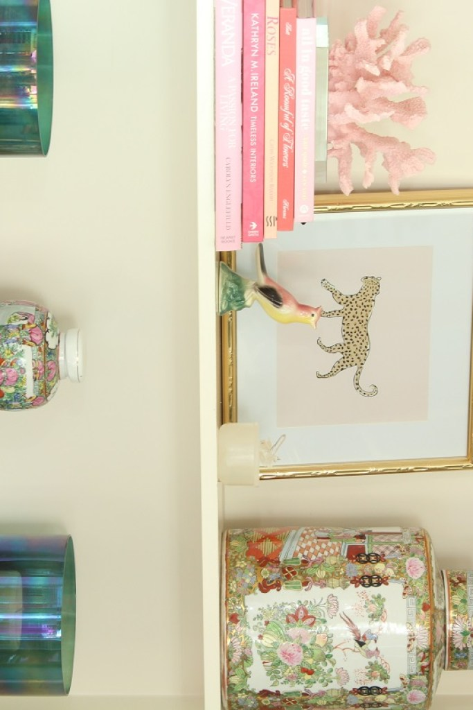 How to StyleBookcases - No Cost Decorating