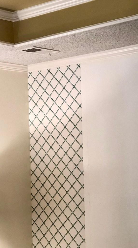 Bamboo Trellis Wallpaper