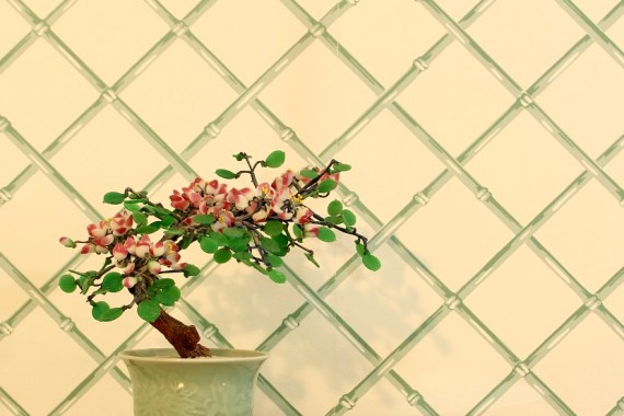 Asian Bonsai Tree - Perfect Accessory for Chinoiserie Master Makeover