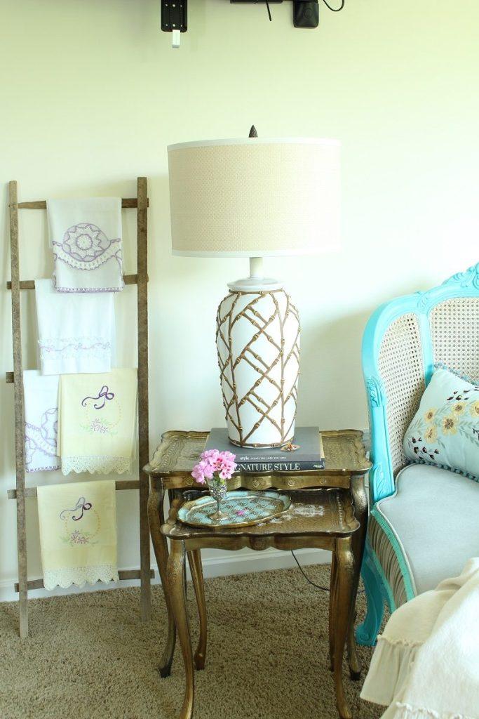 Hollywood Regency Bedroom Lamp