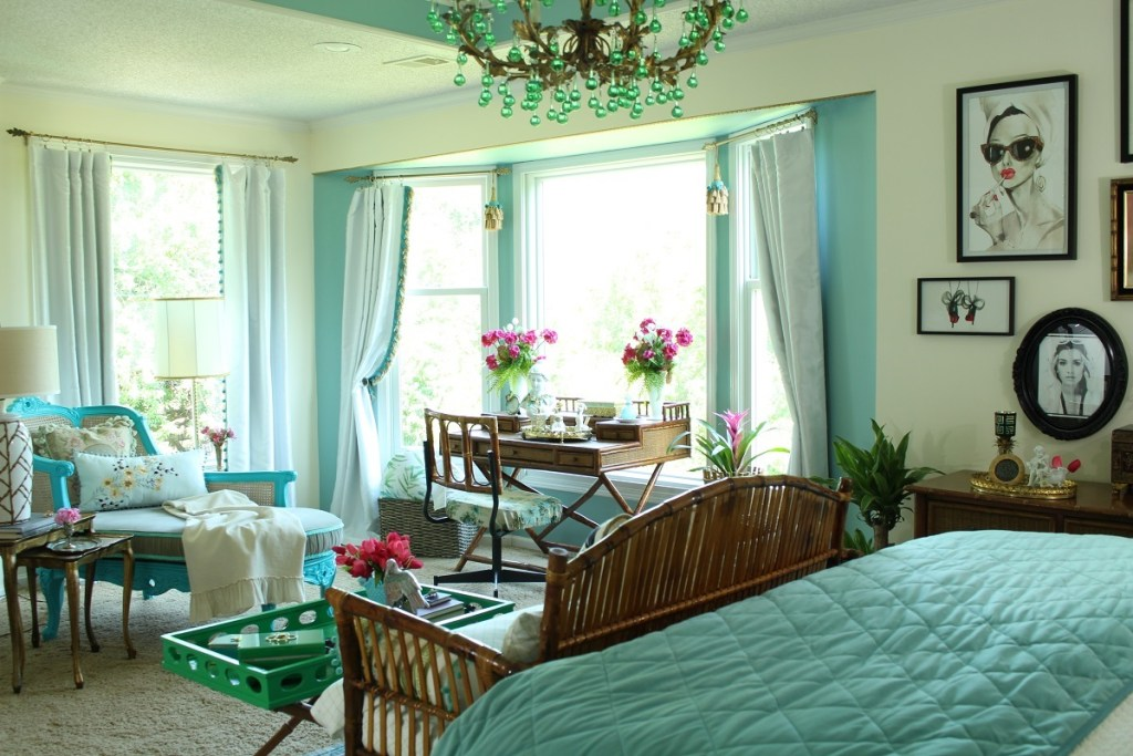 Colorful Chic Bedroom Transformation