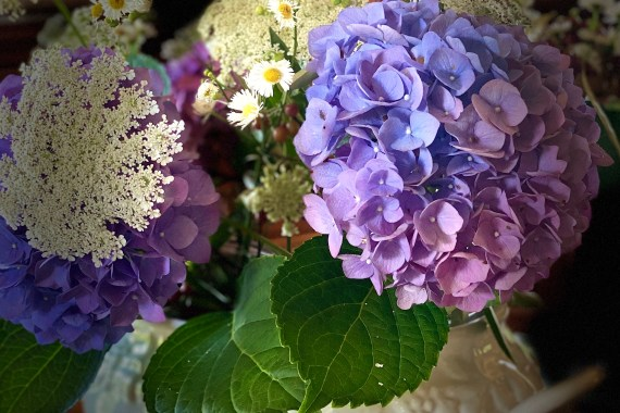 Blue Hydrangea Centerpiece Guide