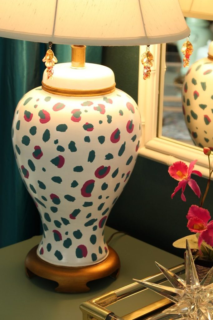 Ginger Jar Lamp Gets Designer Look