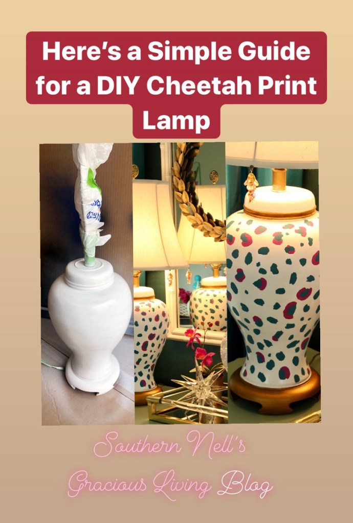 Before and After DIY Designer Lamp Makeover