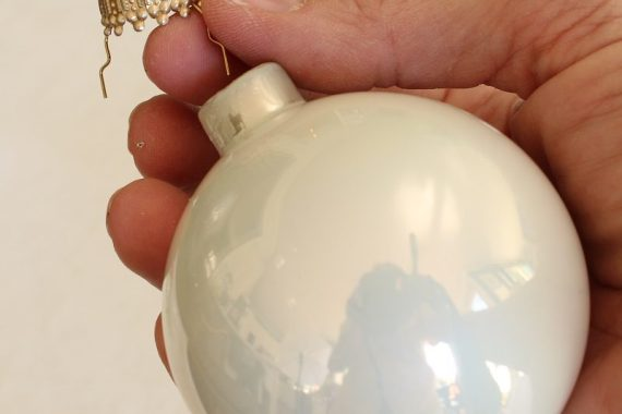 DIY Victorian Christmas Ornament