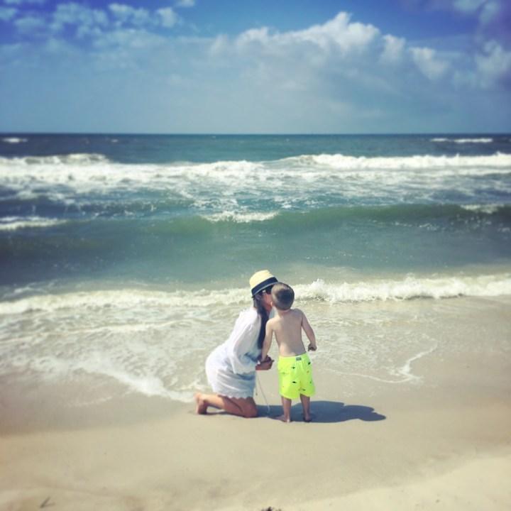Beach Trip With Kids