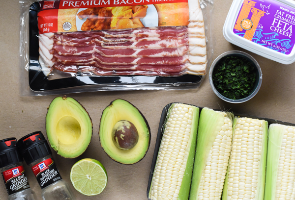 Bacon Corn Avocado Salad