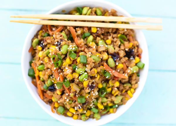 Vegetable Cauliflower Fried Rice