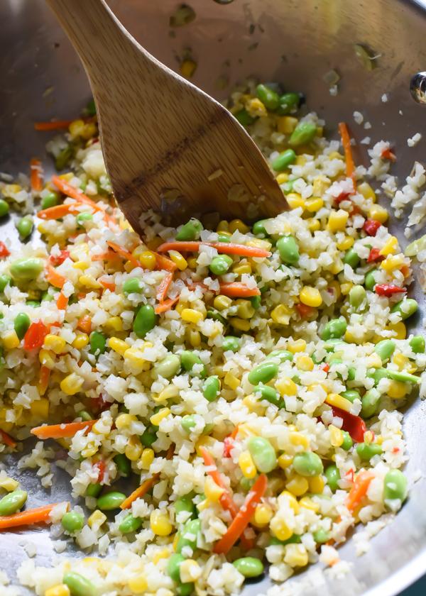 Vegetable Cauliflower Fried Rice