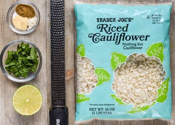 Copycat Chipotle Cilantro Lime Cauliflower Rice
