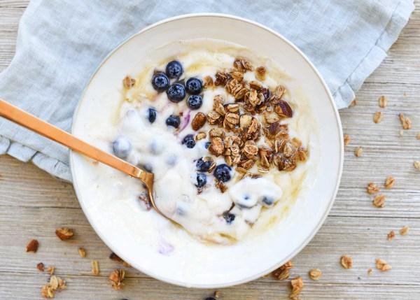 Dairy-Free Yogurt Granola Breakfast Bowl