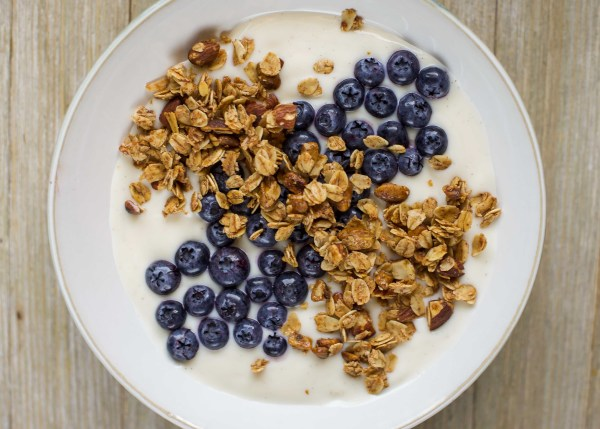 Dairy-Free Yogurt Granola Breakfast Bowl