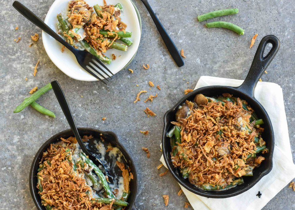 Half-Way Homemade Green Bean Casserole