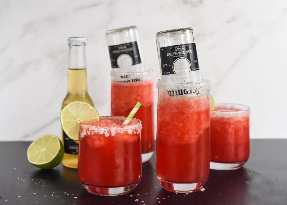Skinny Cherry Lime Beergaritas