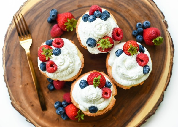 Gluten Free Mini Angel Food Cakes