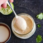 Easy Chipotle Lime Crema