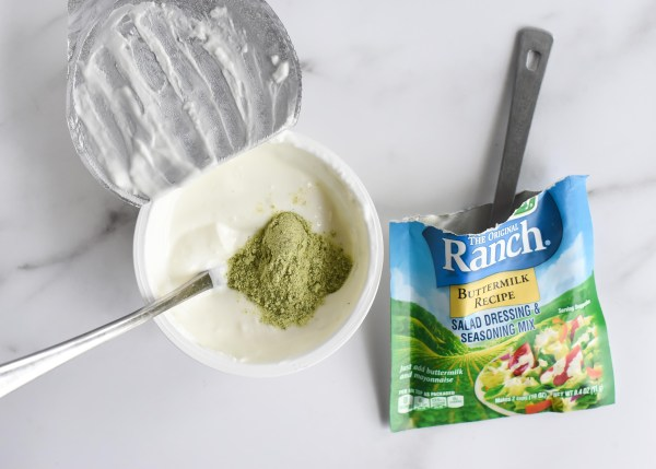 Healthy Greek Yogurt Ranch Dressing