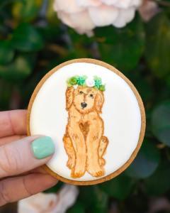 floral dog