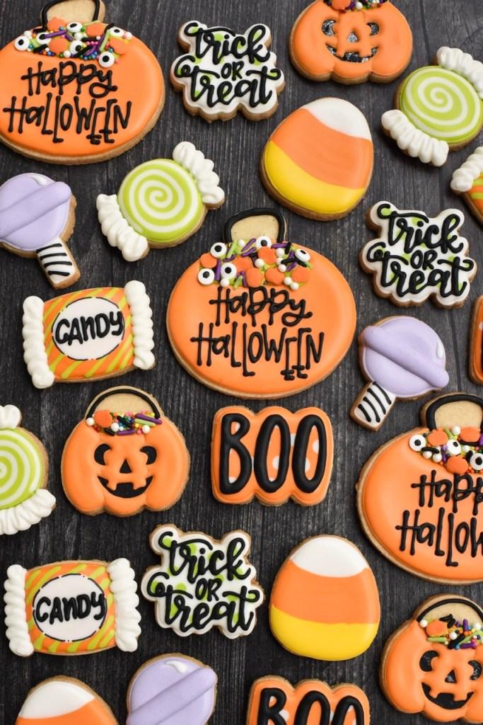Wilton Halloween cookies
