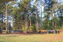 Log Pile Obstacle at Southern Pines CDE