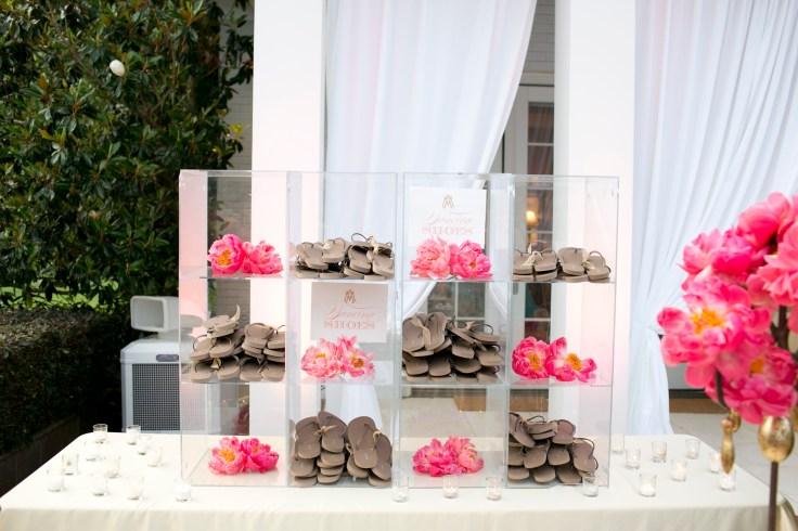 shoe-station-at-wedding