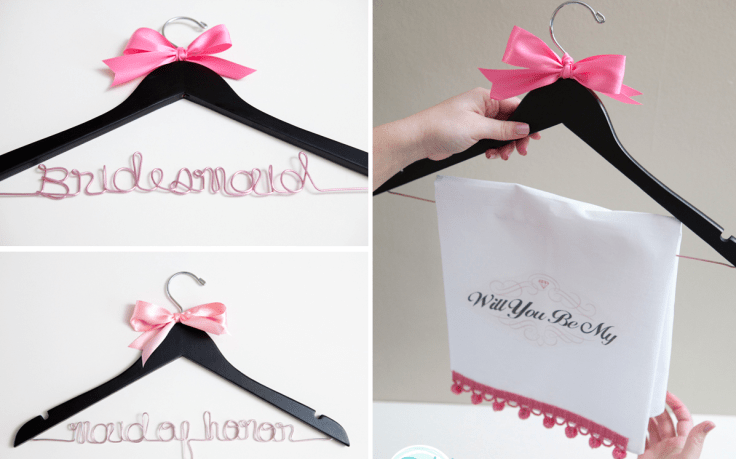 bridesmaid hanger