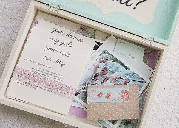 bridesmaids gift box 1