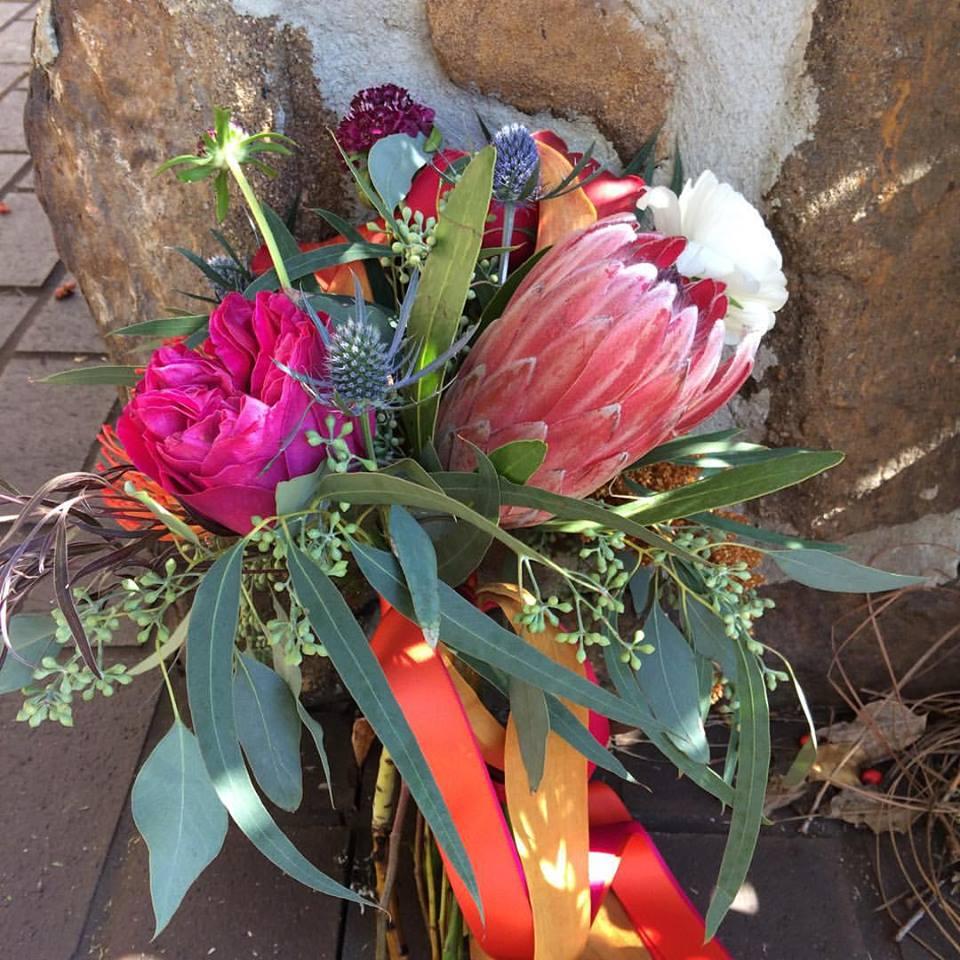 jewel-tone-boho-bouquet